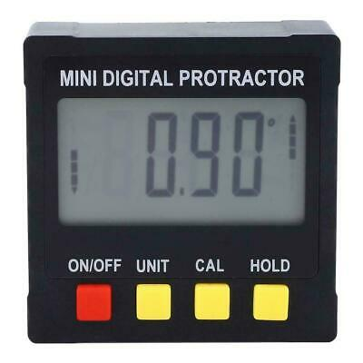 US Digital LCD Protractor Angle Finder Bevel Box Inclinometer Meter Magnetic