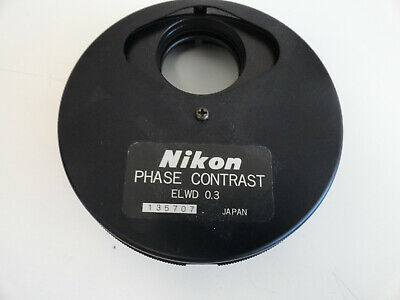 SS3: Nikon Phase Contrast ELWD 0.3 Phase Contrast Condenser