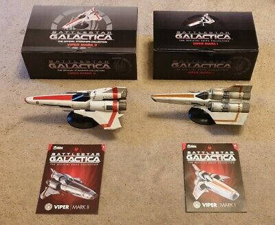 Eaglemoss Battlestar Galactica: Battlestar Viper Bundle (EACH 27CM LENGTH)