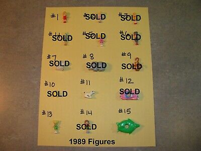 PICK ONE VINTAGE 1989 to 1999 POLLY POCKET BLUEBIRD DOLL ANIMAL EXTRAS FIGURES