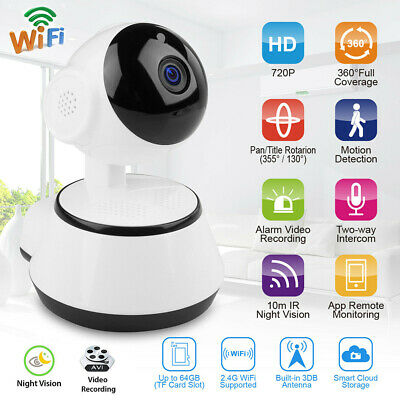 1080P HD Wireless WiFi IP Security Camera Indoor CCTV Home Smart Baby Monitor