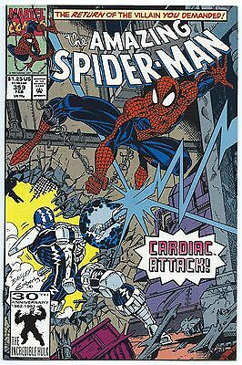 AMAZING SPIDER-MAN #359 Feb 1992 NM 9.4 1st App CARNAGE! MARVEL Comics CARDIAC