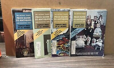 1973-1974 The Antique Trader Magazine (Lot of 4) Price Guide To Antiques (PH1)