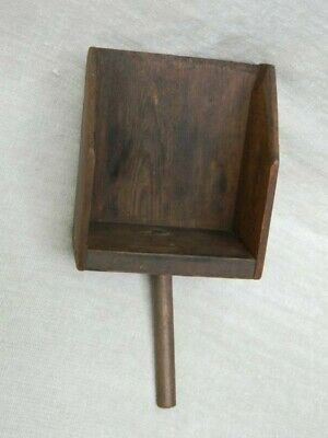 Wooden Scoop With Handle Vintage Antique Country Primitive