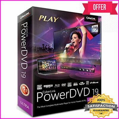 CyberLink PowerDVD Ultra 19 <>Life Time License<>INSTANT DELIVERY<>