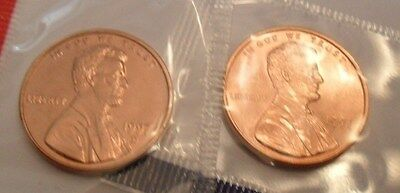1997 P & D Lincoln Memorial Cent / Penny Set *MINT CELLO*  **FREE SHIPPING**