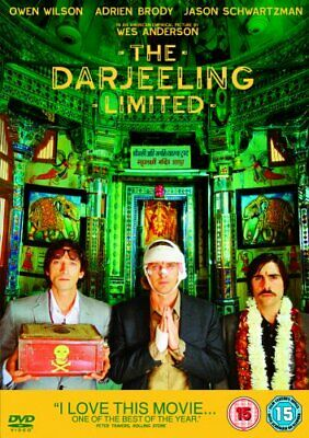 The Darjeeling Limited Wes Anderson Owen Wilson Adrien Brody India Comedy DVD
