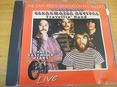 Creedence Clearwater Revival Travellin Band Live Cd