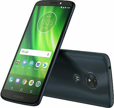 Motorola Moto G6 Play XT1922-9 16GB 4G LTE Cricket AT&T GSM Unlocked - Blue- New