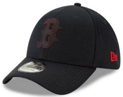 huge selection of 08ee0 f51a9 New Era 2019 MLB Boston Red Sox Hat Cap Clubhouse Rubber Logo 39Thirty  11867976