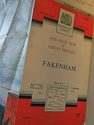 Fakenham,North Norfolk,Holkham Hall:railways Close:1950-62:Series 7 Ordnance Map