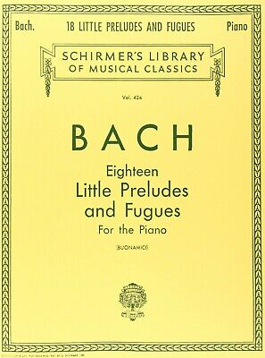 Bach: 18 Little Preludes And Fugues