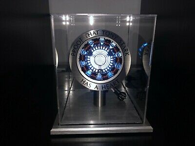 Iron Man 1:1 Arc Reactor Proof Tony Stark Has A Heart Mk1 Led Light Assembled