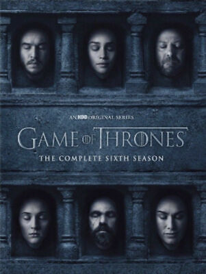 Game of Thrones: The Complete Sixth Season 6 6th (DVD, 2016, 5-Disc Set)