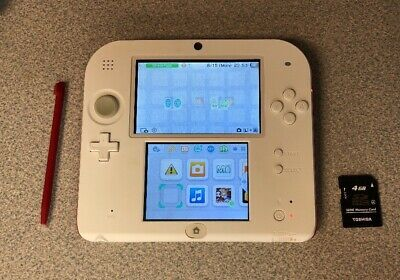NINTENDO 3DS XL - Red + 4GB SD Card - $90 00 | PicClick