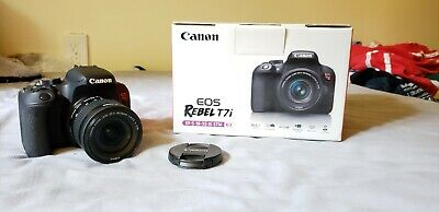 Canon EOS Rebel T7i EFS 18-55mm IS STM Lens Kit Henry's 2 year warranty included