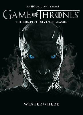 Game Of Thrones The Complete Seventh Season DVD set 7 7th Brand New Sealed