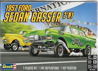 "1:25 Revell 4478  - 1947 FORD SEDAN - GASSER ""2 in 1"" MODEL KIT"