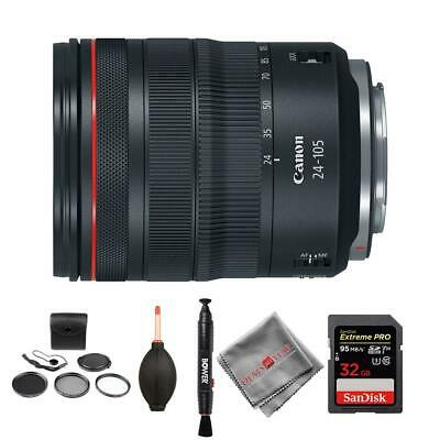 Canon RF 24-105mm f/4L IS USM Lens and memory kit