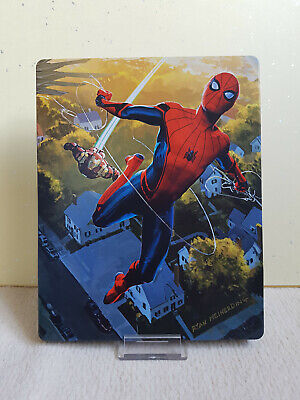 Spider-man Homecoming Steelbook Bluray 3D - Edition Fnac