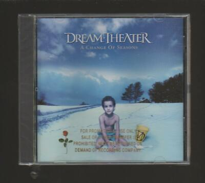 Dream Theater A Change Of Seasons Ep Brand New Sealed Cd Rare Promo  Free Ship!