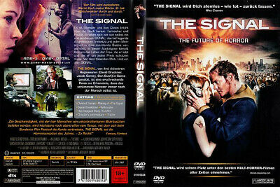THE SIGNAL /DVD in Schuber mit 3 D - Cover / Horror Thriller Zombies