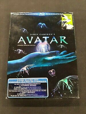 Avatar (Extended 3 Disc Blu-Ray Collector's Edition)
