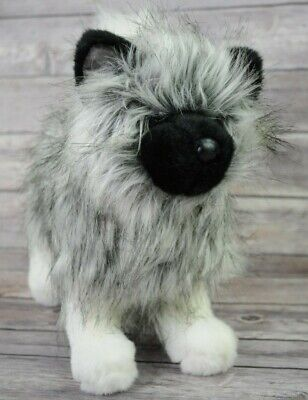 Keeshond Stuffed Toy Goldenacresdogs