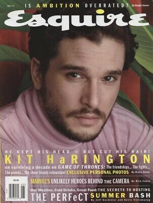 Esquire May 2019 Kit Harington Game of Thrones