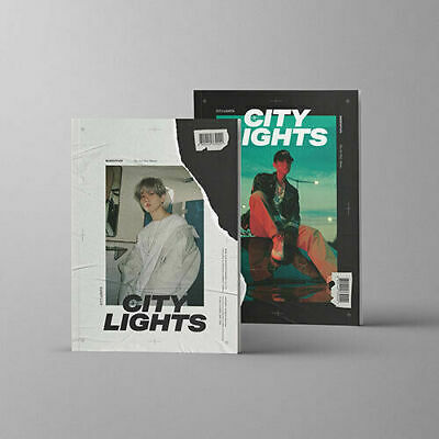 "SJmusic [BAEKHYUN] 1st Mini Album ""City Lights"" (Random) CD+Books+Card+2POSTER"