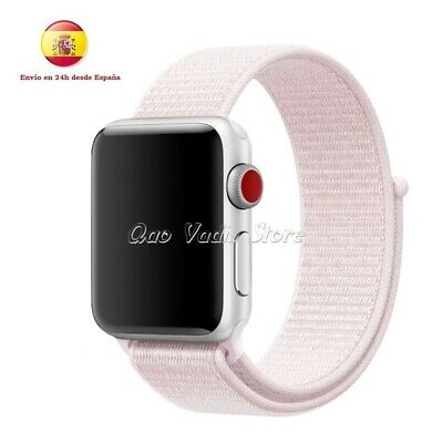 Correa Pulsera Loop De Nailon Deportiva Para Apple Watch 1/2/3/4 / 38-40