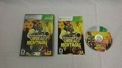 Red Dead Redemption: Undead Nightmare (Microsoft Xbox 360, 2010) (CIB) 1006
