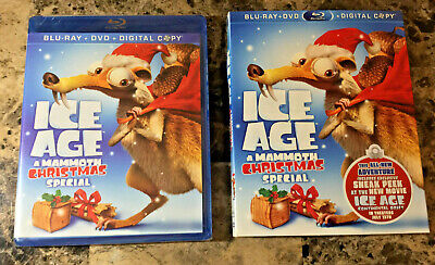 Ice Age A Mammoth Christmas.Ice Age A Mammoth Christmas Special New Blu Ray Ac 3