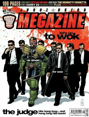 2000AD Judge Dredd Megazine 206-236 Excellent Condition All Issues. Sealed Gifts