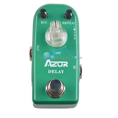 AZOR Delay Guitar Effect Pedal Super Mini Pedal True Bypass AP-306 Pedal Effect