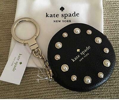 KATE SPADE WHIPSTITCH Heart Keychain/Purse Charm Authentic