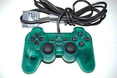 Dualshock Controller Green Sony SCPH-1200 Playstation 1 PS1 Console Game System