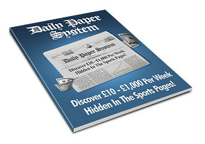The Daily Paper Horse Racing System For Betting Tips