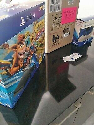 CTR Crash Team Racing Nitro fueled PS4 PlayStation Brand New Console