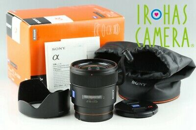 Sony Carl Zeiss T* 24mm F/2 ZA SSM Lens for Sony AF With Box #22444