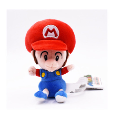 Super mario bros brothers baby 5' plush doll stuffed toy New birthday gift