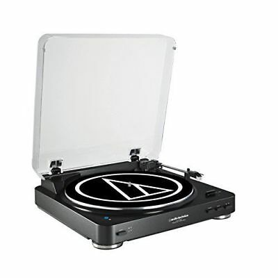 Audio Technica Fully Automatic BlueTooth Stereo Turntable System AT-LP60BK-BT