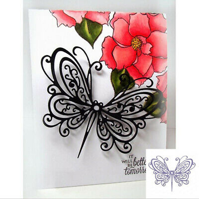 Butterfly Metal Cutting Dies Scrapbooking Embossing Paper Cards Making Paper