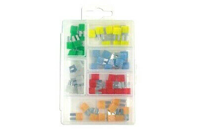 Pack Of Micro 2 Blade Fuses Assorted Box - 60 Pieces  5 AMP - 30 AMP