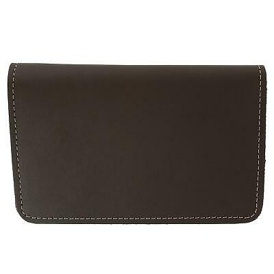 New CTM Leather Top Stub Checkbook Cover