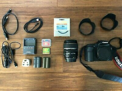 Canon EOS 40D 10.1MP Digital SLR Camera - Black (Kit w/ EF-S 17-85mm Lens)