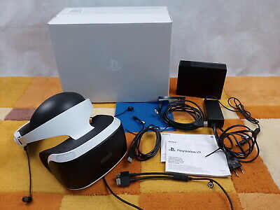 VR Virtual Reality Brille /Sony PlayStation VR Headset PS4 Playstation 4 +OVP