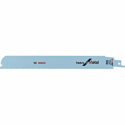 Bosch S1124BEF Metal Cutting Reciprocating Saw Blades Pack of 25
