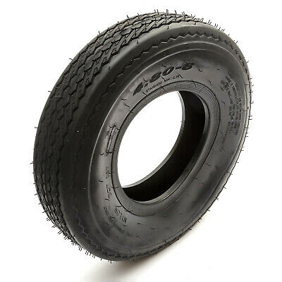 Trailer Tyre 4.80/4.00-8 4 Ply Road Legal Fits 8'' Rims Max 265kg Rated 81mph