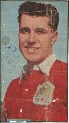 Football Autograph Johnny Watkins Bristol City Signed Magazine Picture F1251